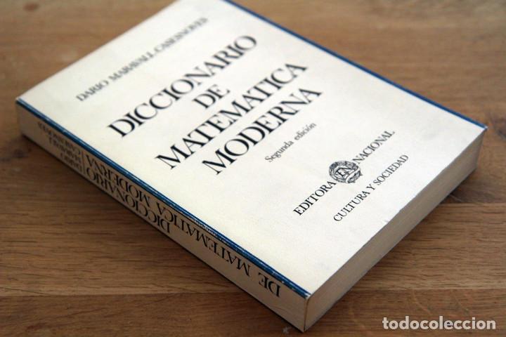 DARIO MARAVALL CASESNOVES. DICCIONARIO DE MATEMÁTICA MODERNA (Libros de Segunda Mano - Ciencias, Manuales y Oficios - Física, Química y Matemáticas)