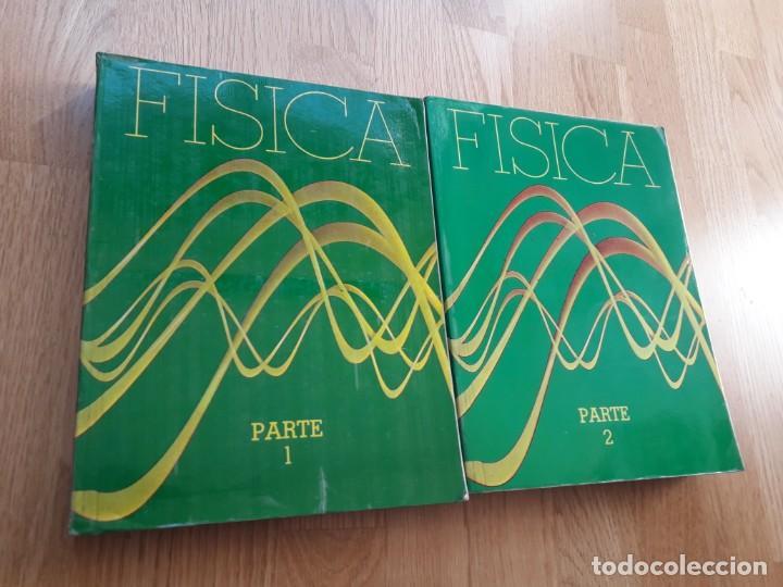 FÍSICA: PARTE 1 + PARTE 2 / RESNICK - HALLIDAY / CIA. EDITORIAL CONTINENTAL, MÉXICO (Libros de Segunda Mano - Ciencias, Manuales y Oficios - Física, Química y Matemáticas)