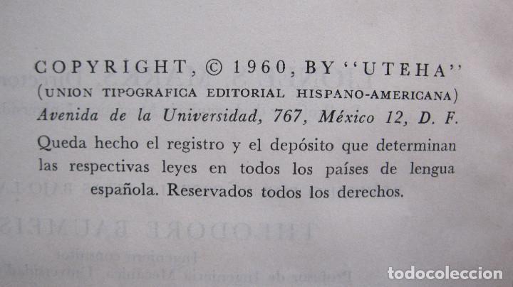 Libros de segunda mano de Ciencias: GRAN VOLUMEN UTEHA: BAUMEISTER Y MARKS. MANUAL DEL INGENIERO MECANICO DE MARKS. **1ª EDIC.**2.597 PA - Foto 3 - 144928914