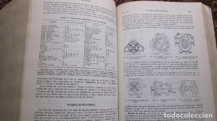 Libros de segunda mano de Ciencias: GRAN VOLUMEN UTEHA: BAUMEISTER Y MARKS. MANUAL DEL INGENIERO MECANICO DE MARKS. **1ª EDIC.**2.597 PA - Foto 5 - 144928914