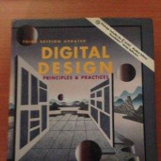 Libros de segunda mano de Ciencias: DISEÑO DIGITAL PRINCIPIOS Y PRACTICA. Lote 135069726