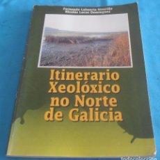 Libros de segunda mano: ITINERARIO XEOLOXICO NO NORTE DE GALICIA. Lote 135272162