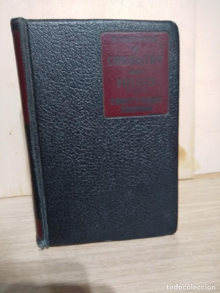 Libros de segunda mano de Ciencias: QUIMICA Y FISICA HANDBOOK OF CHEMISTRY AND PHYSICS - Foto 2 - 135310142
