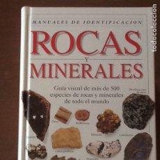 Libros de segunda mano: ROCAS Y MINERALES. Lote 135415781
