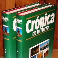 Livros em segunda mão: CRÓNICA DE LA TIERRA 2T POR FÉLIX R. PATURI Y GUILLEM BURREL FLORÍA / ED. PLAZA JANÉS BARCELONA 1992. Lote 135404275