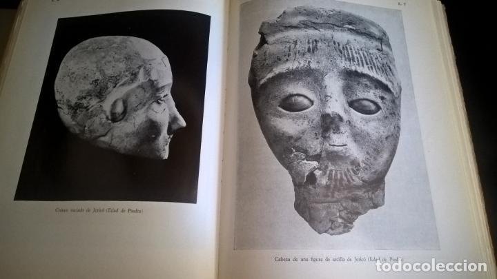 Libros de segunda mano: EL MUNDO DE LA BIBLIA, CINCO MILENIOS EN PALESTINA -SIRIA , ANTÓN JIRKU, 112 LAMINAS - Foto 4 - 135488566