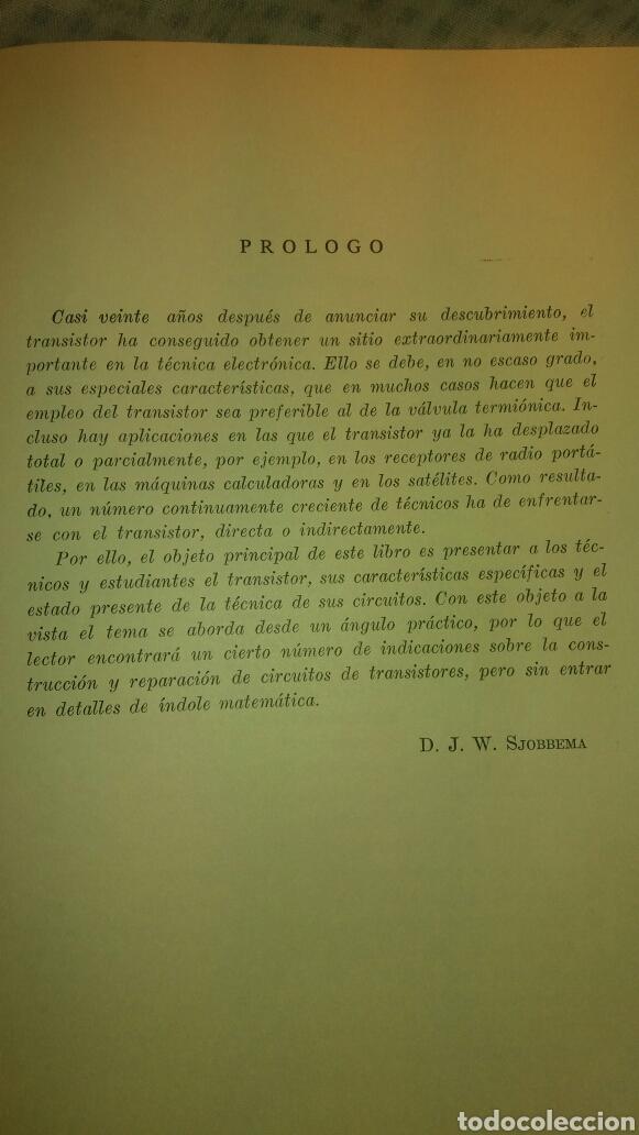 Libros de segunda mano de Ciencias: ANTIGUO LIBRO DE 1967 EL EMPLEO DE LOS TRANSISTORES - Foto 6 - 135511958