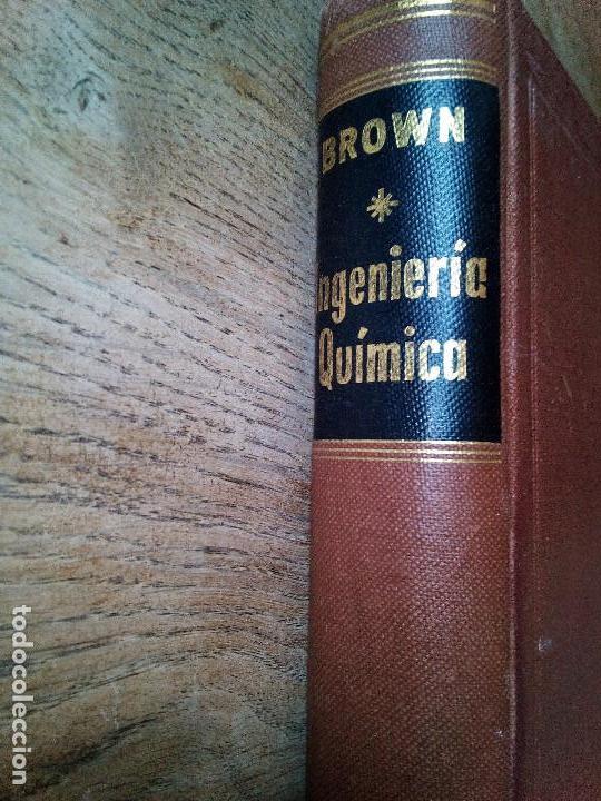 OPERACIONES BÁSICAS DE LA INGENIERÍA QUÍMICA -EDITORIAL MARÍN - 1955 (ENVÍO 4,31€) (Libros de Segunda Mano - Ciencias, Manuales y Oficios - Física, Química y Matemáticas)
