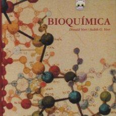 Libros de segunda mano de Ciencias: LIBRO DE BIOQUÍMICA POR DONALD VOET & JUDITH G. VOET DE 1315 PÁGINAS BARCELONA AÑO 1992 GRAN FORMATO. Lote 136285430