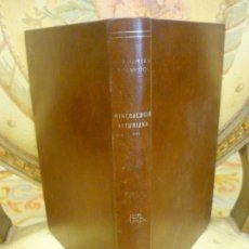 Libros de segunda mano: CATÁLOGO DESCRIPTIVO DE LAS SUSTANCIAS ASÍ METÁLICAS COMO LAPÍDEAS DE LA PROVINCIA DE ASTURIAS....... Lote 155747288