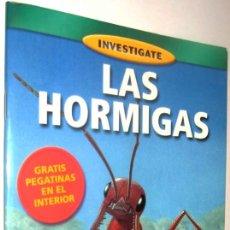 Libros de segunda mano: LAS HORMIGAS - PAUL ZBOROWSKI - ILUSTRADO - CONTIENE HOJA CON PEGATINAS *. Lote 136384962
