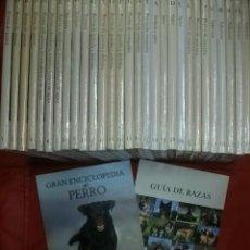 Libros de segunda mano: GRAN ENCICLOPEDIA DEL PERRO - RBA EDITORES (COMPLETA EN 30 TOMOS). Lote 136403094
