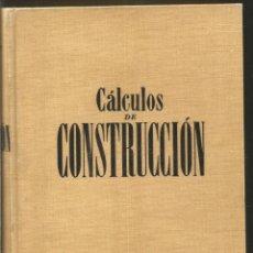 Libros de segunda mano de Ciencias: MANUEL COMPANY. CALCULOS DE CONSTRUCCION. GUSTAVO GILI. Lote 137188214