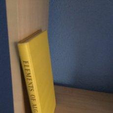 Libros de segunda mano de Ciencias: ELEMENTS OF ALGEBRA. LEVI. ELEMENTOS DE ALGEBRA. Lote 137207904