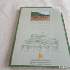 Libros de segunda mano: L'ECOSISTEMA DE LA SERRA DE PRADES . Lote 137656622