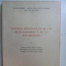 Livros em segunda mão: ESTUDIOS AFIDOLÓGICOS DE LAS ISLAS CANARIAS Y DE LA MACARONESIA. Lote 137719558