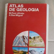 Libros de segunda mano: ATLAS DE GEOLOGIA , EDICIONES JOVER . Lote 138130174