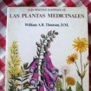 Libros de segunda mano: LIBRO GUIA ILUSTRADA DE PLANTAS MEDICINALES. Lote 138217318
