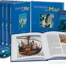 Libros de segunda mano: ENCICLOPEDIA DEL MAR AUPPER (8 TOMOS Y 2 DVDS) - VV.AA.. Lote 131764703