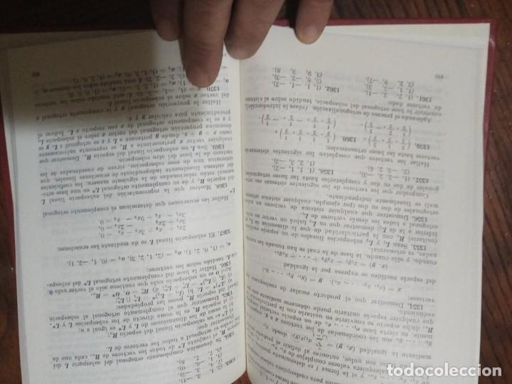 Libros de segunda mano de Ciencias: PROBLEMAS DE ALGEBRA LINEAL-I.PROSKURIAKOV.1986. - Foto 4 - 138893402