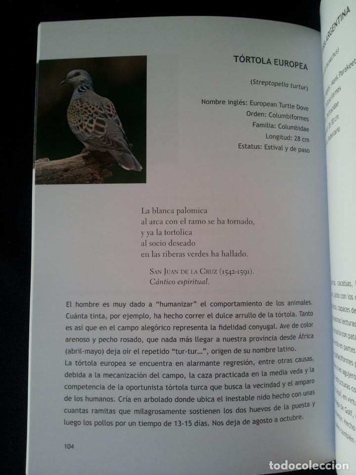 Libros de segunda mano: MANUEL GARRIDO SANCHEZ - AVES Y POESIA, LAS 180 AVES MAS COMUNES EN MALAGA Y PROVINCIA - 2015 - Foto 3 - 139112186