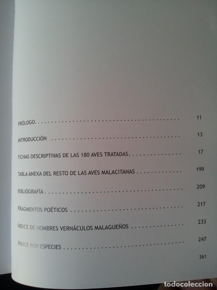 Libros de segunda mano: MANUEL GARRIDO SANCHEZ - AVES Y POESIA, LAS 180 AVES MAS COMUNES EN MALAGA Y PROVINCIA - 2015 - Foto 5 - 139112186