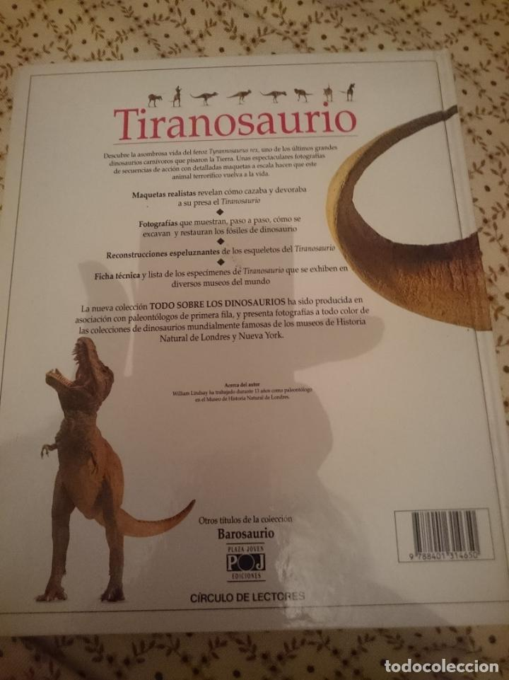 Libros de segunda mano: TIRANOSAURO - CIRCULO DE LECTORES - Foto 2 - 139614286