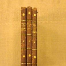 Libros de segunda mano de Ciencias: FISICA Y QUIMICA. 1946, 1953...ENCUADERNACION MEDIA PIEL. Lote 139759337