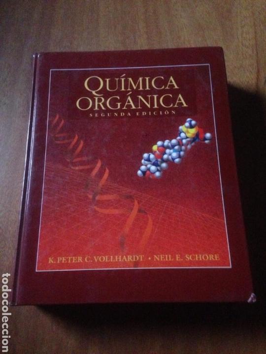 QUIMICA ORGANICA - K. PETER (Libros de Segunda Mano - Ciencias, Manuales y Oficios - Física, Química y Matemáticas)