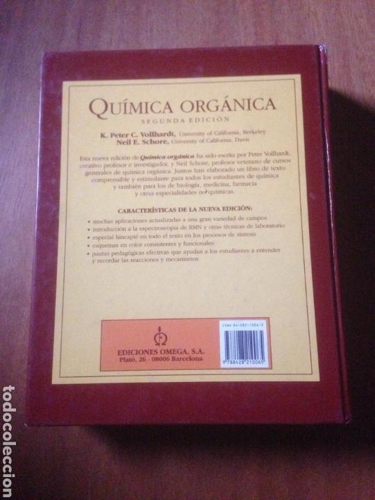 Libros de segunda mano de Ciencias: QUIMICA ORGANICA - K. PETER - Foto 4 - 140049160