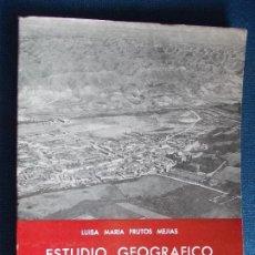 Libros de segunda mano: ESTUDIO GEOGRAFICO DEL CAMPO DE ZARAGOZA LUISA MARÍA FRUTOS MEJIAS. Lote 140077078
