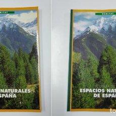 Libros de segunda mano: ECOGUIA DE LOS ESPACIOS NATURALES DE ESPAÑA Nº 1 Y 2. TDK356. Lote 140232942