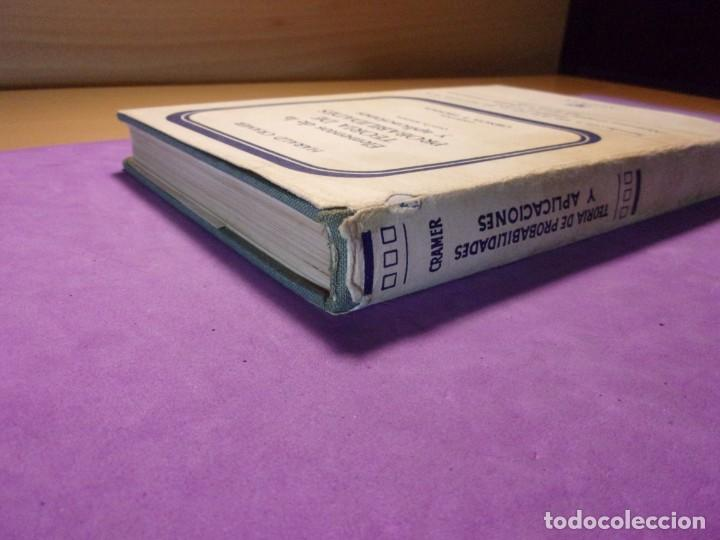Libros de segunda mano de Ciencias: ELEMENTOS DE LA TEORÍA DE PROBABILIDADES Y APLICACIONES / Harald Cramer / 1966. Aguilar - Foto 9 - 140339902