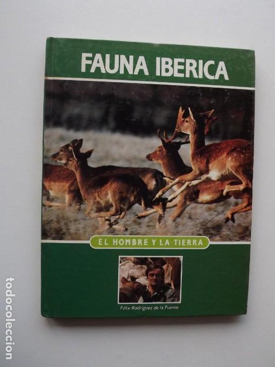 TOMO 1 FAUNA IBÉRICA, EL HOMBRE Y LA TIERRA FÉLIX RODRÍGUEZ DE LA FUENTE (Libros de Segunda Mano - Ciencias, Manuales y Oficios - Biología y Botánica)