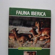 Libros de segunda mano: TOMO 1 FAUNA IBÉRICA, EL HOMBRE Y LA TIERRA FÉLIX RODRÍGUEZ DE LA FUENTE. Lote 140365442