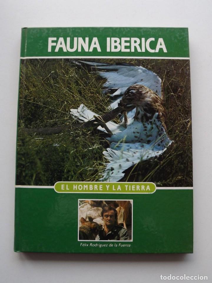TOMO 3 FAUNA IBÉRICA, EL HOMBRE Y LA TIERRA FÉLIX RODRÍGUEZ DE LA FUENTE (Libros de Segunda Mano - Ciencias, Manuales y Oficios - Biología y Botánica)