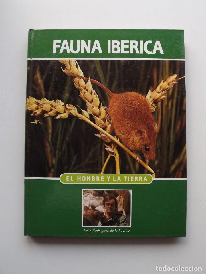 TOMO 8 FAUNA IBÉRICA, EL HOMBRE Y LA TIERRA FÉLIX RODRÍGUEZ DE LA FUENTE (Libros de Segunda Mano - Ciencias, Manuales y Oficios - Biología y Botánica)