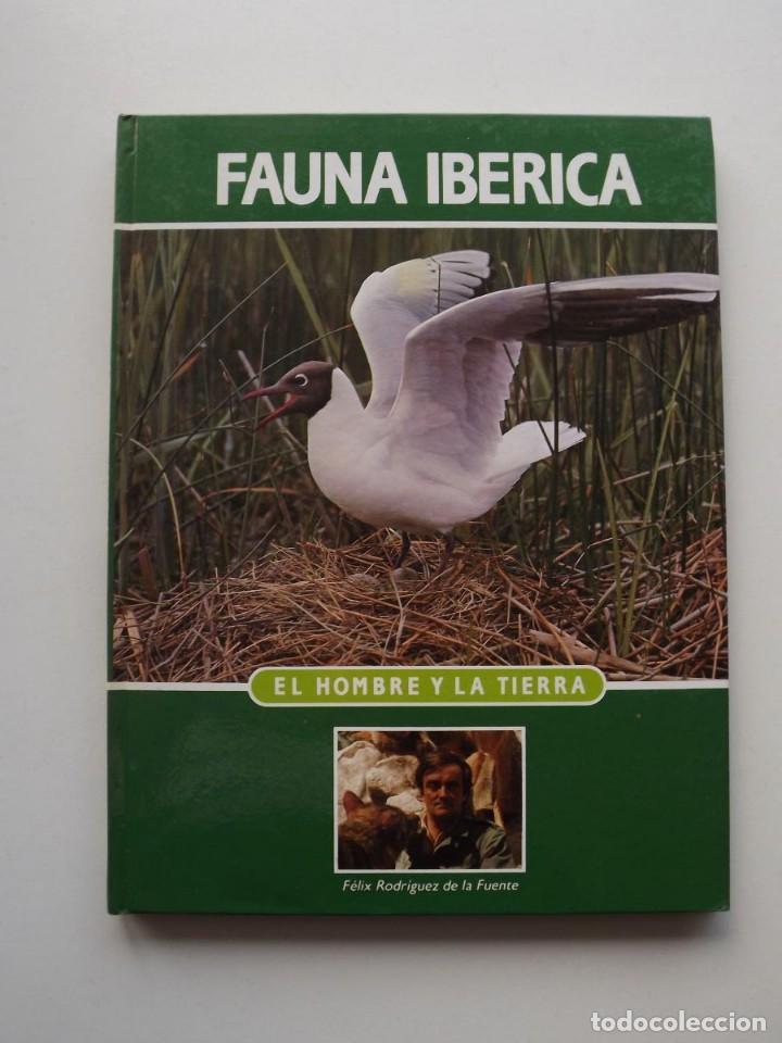 TOMO 13 FAUNA IBÉRICA, EL HOMBRE Y LA TIERRA FÉLIX RODRÍGUEZ DE LA FUENTE (Libros de Segunda Mano - Ciencias, Manuales y Oficios - Biología y Botánica)