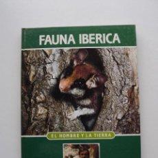 Libros de segunda mano: TOMO 2 FAUNA IBÉRICA, EL HOMBRE Y LA TIERRA FÉLIX RODRÍGUEZ DE LA FUENTE. Lote 140368626