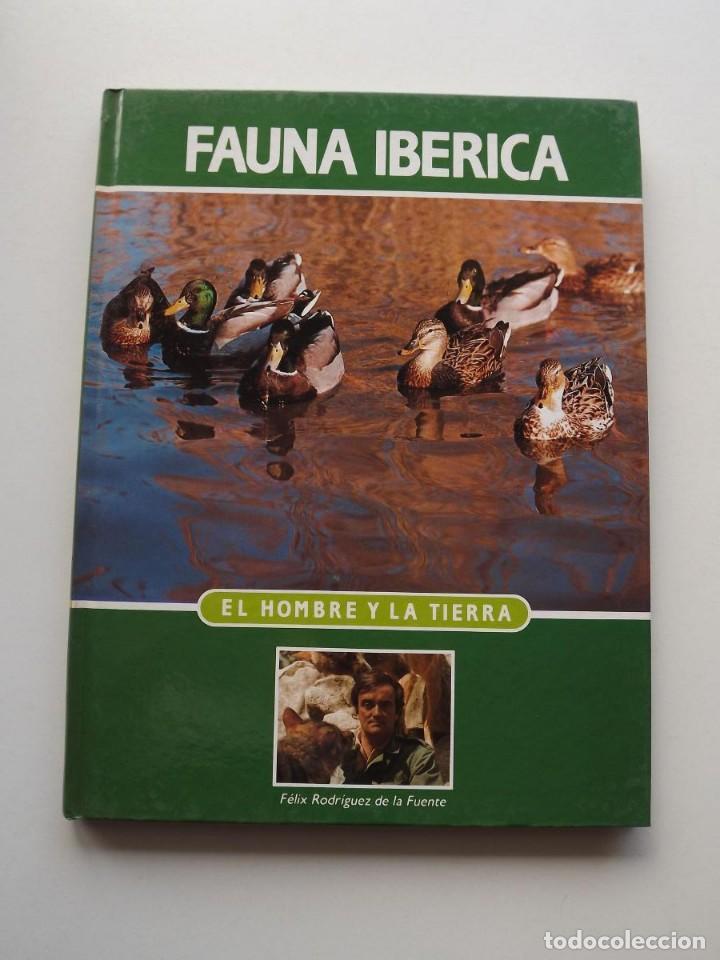 TOMO 11 FAUNA IBÉRICA, EL HOMBRE Y LA TIERRA FÉLIX RODRÍGUEZ DE LA FUENTE (Libros de Segunda Mano - Ciencias, Manuales y Oficios - Biología y Botánica)