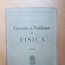 Libros de segunda mano de Ciencias: EJERCICIOS Y PROBLEMAS DE FÍSICA GASSIOT, JOSÉ.. Lote 140370574