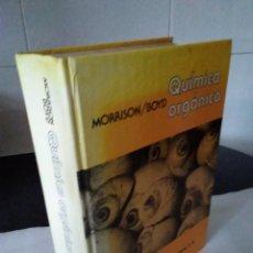 Libros de segunda mano de Ciencias: 122-QUIMICA ORGANICA, MORRISON ,BOYD, 1976. Lote 140568110