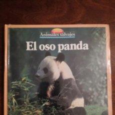 Libros de segunda mano: EL OSO PANDA COLECCION ANIMALES SALVAJES MULTILIBRO 1989 PRECINTADO. Lote 140873418