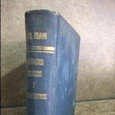 Libros de segunda mano de Ciencias: PRODUCTOS QUIMICOS Y FARMACEUTICOS. FRANCISCO GIRAL. VOLUMEN 2. COMPUESTOS ISOCICLICOS ( AROMATICOS). Lote 141228822