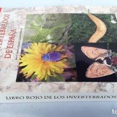 Libros de segunda mano: LIBRO ROJO DE LOS INVERTEBRADOS DE ESPAÑA-JOSE R VERDU-EDUARDO GALANTE-NUEVO. Lote 141255762