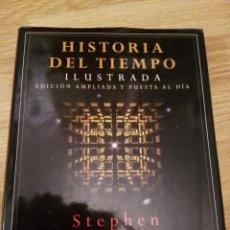 Libros de segunda mano de Ciencias: STEPHEN HAWKING. HISTORIA DEL TIEMPO. ILUSTRADA EDICION AMPLIADA Y PUESTA AL DIA. CRITICA 1996.. Lote 148946980