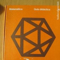 Libros de segunda mano de Ciencias: MATEMÁTICAS. GUÍA DIDÁCTICA 4. EGB.-SANTILLANA. . Lote 142109178
