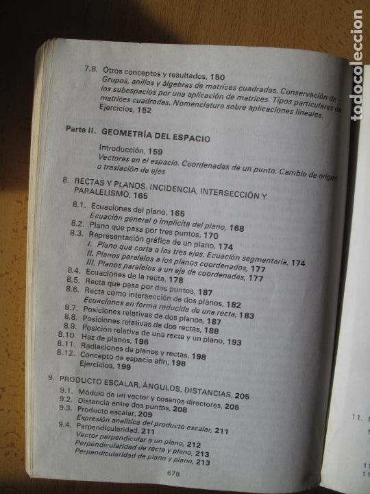 Libros de segunda mano de Ciencias: MATEMÁTICAS.- C.O.U.- F. BERNIS., A. MALET , C. MOLINA. EDITORIAL NOGUER. 1985. - Foto 5 - 142110350