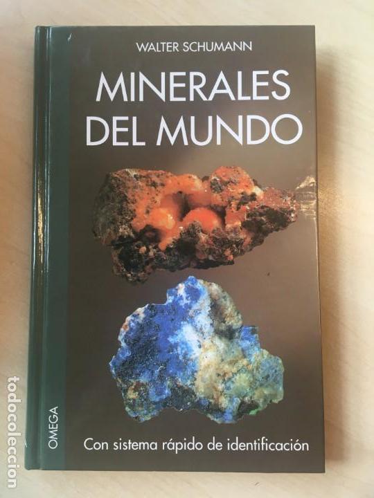 WALTER SCHUMANN. MINERALES DEL MUNDO. (Libros de Segunda Mano - Ciencias, Manuales y Oficios - Paleontología y Geología)