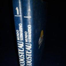 Libros de segunda mano: MUNDO SUBMARINO 2 TOMOS. JACQUES COUSTEAU. Lote 142401614